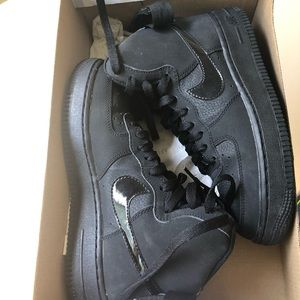 Black Air Force One 1 new